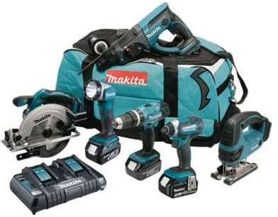 Pack 6 Outils Makita DLX6068PT