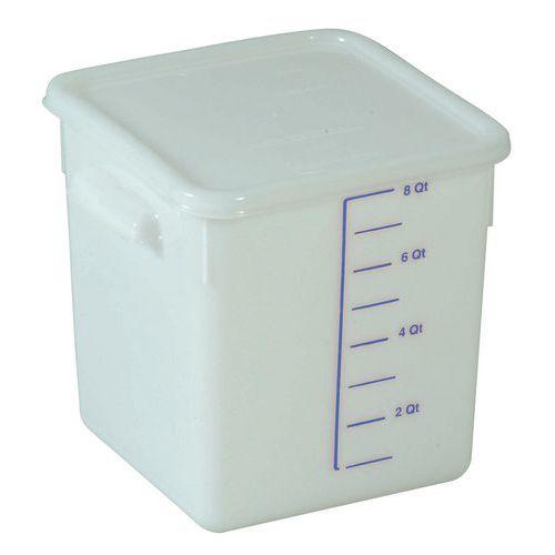 Boîte plastique de stockage