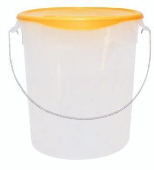 Pot plastique de stockage