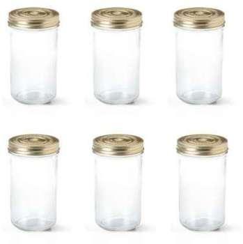 Lot de 6 terrines en verre