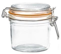 Terrine hermétique en verre