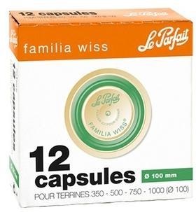 Boîte de 12 capsules couvercles