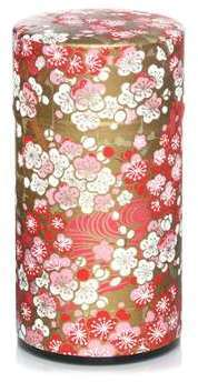 Boîte à thé washi Cerisiers