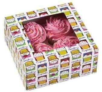 Boîte à 4 cupcakes Heaven