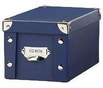 Boîte Pearl bleue d archivage