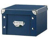 Boîte bleue d archivage pour