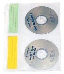 Pochettes à CD DVD pour classeur