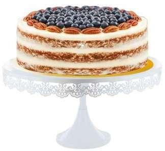 Présentoir gâteau broderie