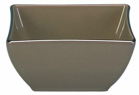 Bol carré couleur café 9x9cm