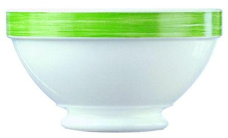 Bol empilable blanc vert 51cl