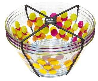 Set 4 bols à céréales Dot