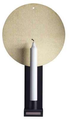 Bougeoir mural Lampett laiton