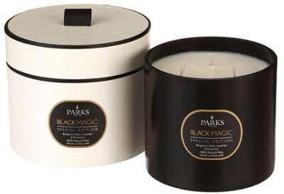 Parks - Bougie parfumée Black