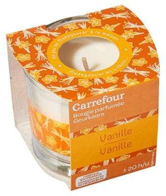 Bougie parfumée vanille Carrefour