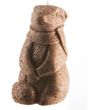 Bougie Marmotte petit modèle