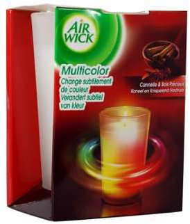 Air wick bougie led cannelle