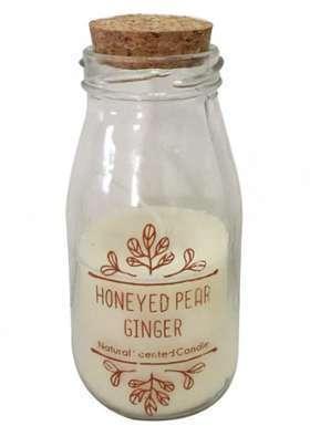 Bougie miel de poire et gingembre
