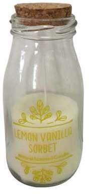 Bougie sorbet citron vanille