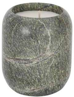 Materialism Stone Candle -