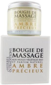 Bougie de massage naturelle