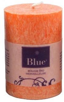 Petite Bougie cylindre Orange