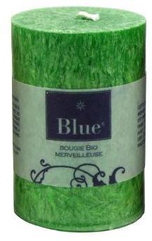 Petite Bougie cylindre Verte