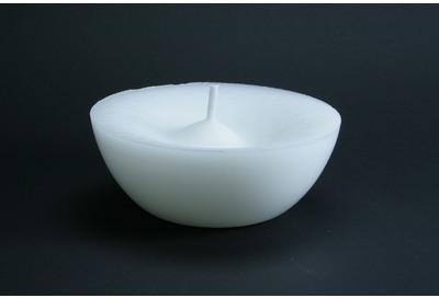Bougie vasque flottante blanche