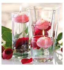10 Bougies flottantes au parfum