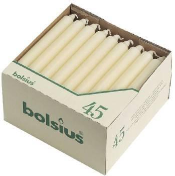 Bougies Bolsius Ivoire - 200mm