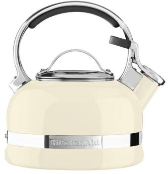 Bouilloire à thé 1 9L crème