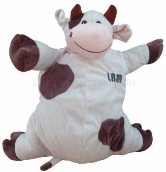 Housse de Bouillotte vache
