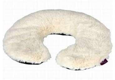 Bouillotte Tour de cou blanc