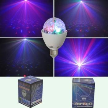 Lampe a Led effet disco Rotatif