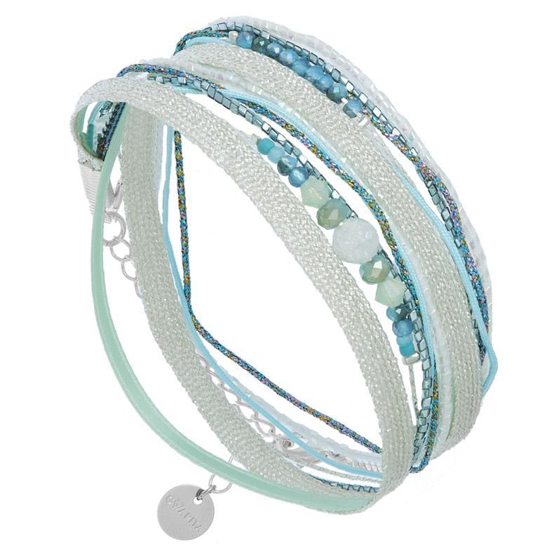 Catgorie bracelets page 62 du guide et comparateur d 39 achat - Bracelet perle et ruban ...