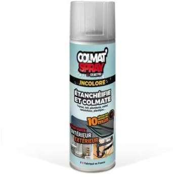 Colmat Spray incolore étanchéifie