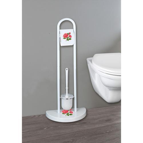 Brosse WC - Rose Romantique
