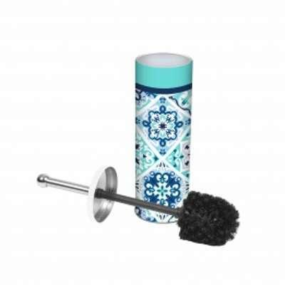 Brosse WC Tiles Bleu et noir