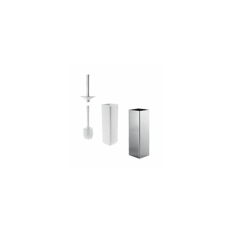 Porte-balai WC design carré