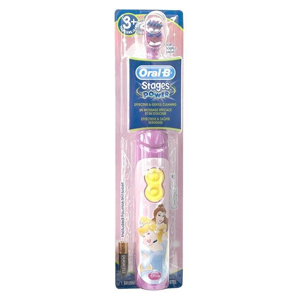 oral b stages power brosse dents electrique princesses disney 3 ans et. Black Bedroom Furniture Sets. Home Design Ideas