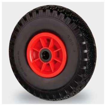 Roue pneu plein 389mm Axe
