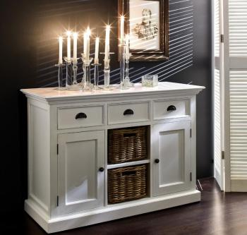 Buffet Commode Bois Blanc
