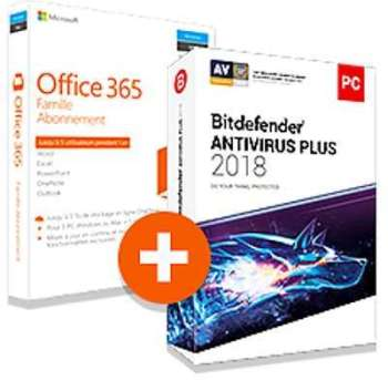 Pack Office 365 Famille Bitdefender