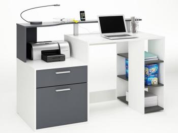Bureau Oracle - MDF blanc