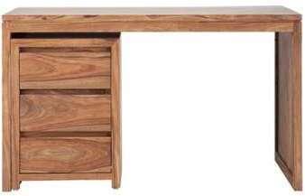 Bureau 3 tiroirs en sheesham