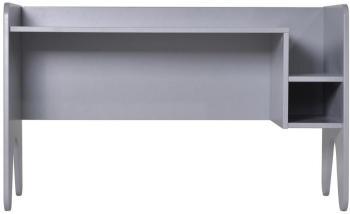 Bureau enfant bois laqué gris