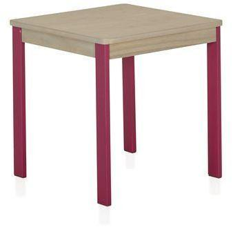 Petit bureau table carrée
