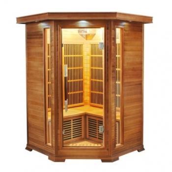 Sauna infrarouge luxe 2 3