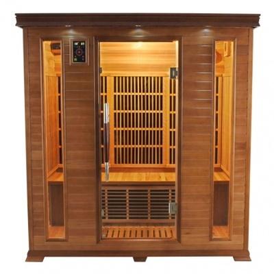 Sauna infrarouge luxe 4 6