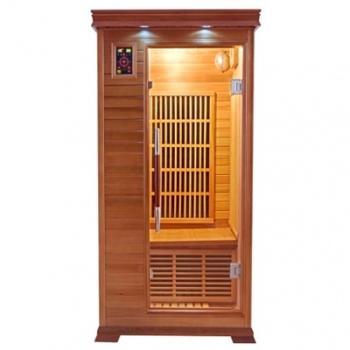 Sauna infrarouge luxe 1 personne