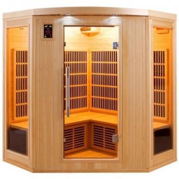 Sauna infrarouge APOLLON angle